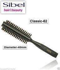 Professional 100% Boar Bristle Medium Dia ROUND RADIAL Hair Brush BLACK -C-62