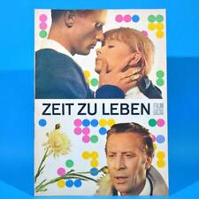 """2022 Film Für Sie 85/1969 DDR """"Zeit zu leben"""" Leon Niemczyk Jutta Hoffmann"""