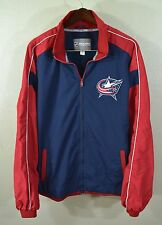 Columbus Blue Jackets Windbreaker Jacket XL NHL Hockey CBJ Ohio