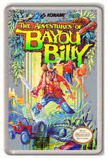 THE ADVENTURES OF BAYOU BILLY NINTENDO NES FRIDGE MAGNET IMAN NEVERA