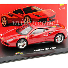 BBURAGO 18-36904 SIGNATURE SERIES FERRARI 488 GTB 1/43 DIECAST MODEL CAR RED