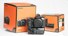 Sony Alpha a900 + VG-C90AM Vertical Grip + 3 Batteries + 68GB of Cards + Extras