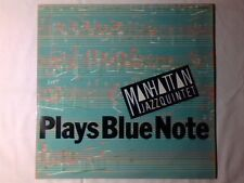 MANHATTAN JAZZ QUINTET Plays Blue Note lp GERMANY JOHN PATITUCCI DEXTER GORDON
