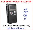GHOST EVP 8GB DIGITAL VOICE RECORDER HUNTING EQUIPMENT - SPIRITS PARANORMAL KIT