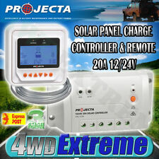 PROJECTA SC320D REMOTE 20A 20 AMP SOLAR PANEL REGULATOR CONTROLLER 12 VOLT 12V