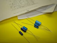 DYNACO AF-6 PC-27 AXIAL ELECTROLYTIC CAPACITOR REBUILD KIT