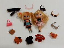 BLYTHE DOLL LOT HASBRO 2010 LITTLEST PET SHOP LONDON & FABULOUSLY V DOLL