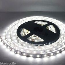 5630 Cool White Non-Waterproof 5M 300 Leds SMD LED Strip Lights Lamp For Car 12V