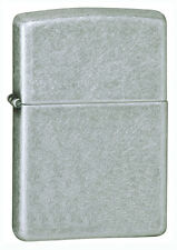 Zippo Windproof Antique Silver Plate Lighter, # 121FB, New In Box