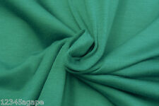 B75 DEEP TEAL SUPER FINE COTTON LYCRA BLEND BI-STRETCH JERSEY MADE IN ITALY