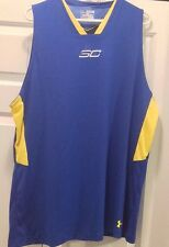 Under Armour UA Stephen Curry SC30 Quick Release Basketball Tank 1260261 2XL $50