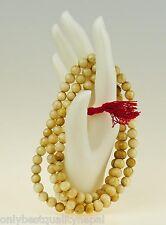 Edle Muschel Perlen Mala Shell Nepal Schmuck Rosario Halskette Buddha 49g