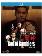 "Chow Yun Fa ""God of Gamblers"" Andy Lau HK Version Action Region All NEW Blu-Ray"