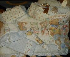 Vintage 8Pc JUDI-S Baby Nursery CRIB BEDDING Set COMFORTER Sheets Ruffles & MORE