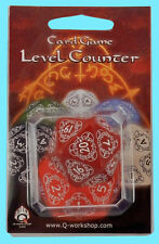 Q-Workshop D20 RED LEVEL COUNTER DIE Jumbo MTG Countdown Game Dice Polyhedral