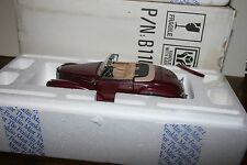 FRANKLIN MINT1957 MERCEDES BENZ 300SC ROADSTER CONV. IN BOX W/COA & PAPERWORK