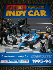 AUTOCOURSE INDY CAR 1995 1996 AL UNSER JR BOBBY RAHAL ROBBY GORDON SCOTT PRUETT