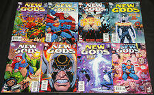 Modern DC DEATH OF THE NEW GODS 8pc Count High Grade Comic Lot #1-8 Superman