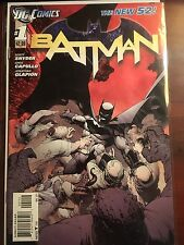 Batman issue #1 VF+ 2nd Print Snyder Capullo DC New 52