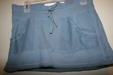 Abercrombie  short SKIRT size Medium  soft Cotton!   Big Logo!  PRETTY!  LOT4558