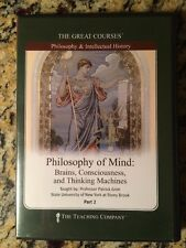 The Great Courses: Philosophy of Mind (Part 2 Only -2 DVD Set - No Books)