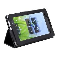 LEATHER CASE COVER WITH STAND FOR LENOVO IDEAPAD A1 22282EU 7-INCH TABLET BLACK
