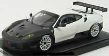 FERRARI F430 GT TEST Fiorano White & Black 1/18 limited edition P1812 BBRMODELS