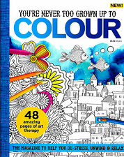 Colour Magazine Issue 1 (Adult Colouring) (New Mindfulness Anti-Stress Craft)