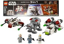 LEGO Star Wars 66534 Super Pack 3 in 1 Microfighters 75072 & 75075 & 75076 (New)