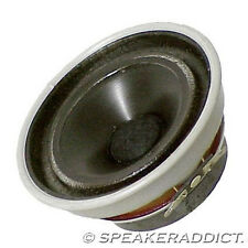 "4 1/2"" Aluminum Cone Woofer MidBass 8Ohm Cloth Surround"