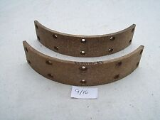 TRIUMPH,BSA,CONICAL BRAKE LININGS DRUM HUB SHOE,PAD,T120,TIGER,UNIT A65,A50,T140