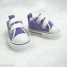 Hujoo Berry Yomi Wings Neo-Go Obitsu 1/6 Male Doll Shoes Denim Sneaker PURPLE
