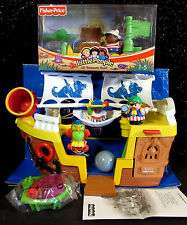 New Fisher Price Little People Play Set Lil' Pirate Ship Treasure Hunt HTF 2005