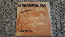 Adam und/and Eve - Neanderthal man 7'' Single SUNG IN ENGLISH