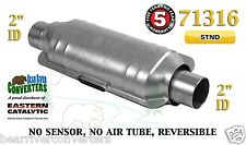 "Eastern Universal Catalytic Converter Standard Catalyst 2"" Pipe 12"" Body 71316"