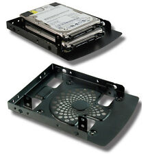 "Evercool Dual 2.5"" Hard Drive Caddy for 3.5"" bay!  Mount 2 laptop drives in PC!"