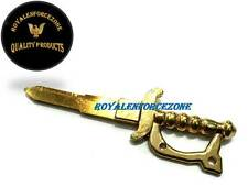 KEY BRASS TALWAR BOTH SIDE CUT SUITABLE FOR ROYAL ENFIELD BY ROYALENFORCEZONE