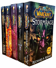 World Of Warcraft Series Collection 5 Book Set Arthas, Stormrage, Thrall, Voljin