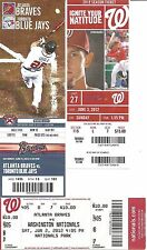 (3) ANGELS ANDRELTON SIMMONS MLB DEBUT,1ST CAREER HIT, 1ST HOME RUN TICKETS LOT