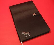 Border Terrier Dog A5 Black Soft Touch Note Book Journal Vet Mothers Gift
