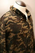 MENS Shirt OPEN TRAILS Camo Flannel LG HUNTING
