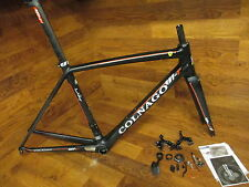 COLNAGO V1-R  FULL CARBON ROAD BIKE FRAME SET 50S  54CM FERRARI
