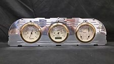 1960 1961 1962 1963 CHEVY TRUCK 3  GAUGE CLUSTER GOLD