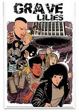 GRAVE LILIES #1 - Blindbox Goonies Movie Poster Homage Cover - Z2 Comics!