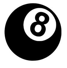 8 BALL Stickers Funny Caravan Swift Bailey CAR BIKE JDM Novelty Vinyl Decal