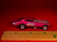 """JL """"THE FIEND"""" TOM DANIELS DESIGNED '72 DODGE CHARGER FUNNY CAR LIMITED EDITION"""