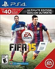 FIFA 15 Ultimate Team Edition PS4 -Brand New Sealed - 1st Class Shipping. a