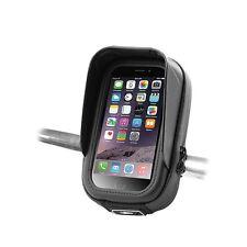 Soporte de moto & agua fijos bolsa con viseras para varias smartphones