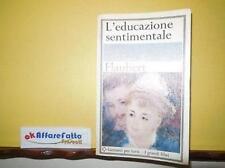 L 2.923 LIBRO L'EDUCAZIONE SENTIMENTALE DI GUSTAVE FLAUBERT 1966