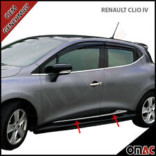 Renault Clio IV 4 / Grandtour IV Seitenleiste Türleisten 4 tlg aus Edelstahl